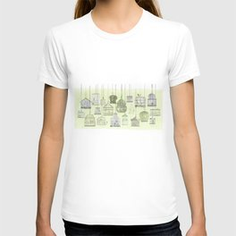 Bird cages T-shirt