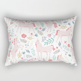 Unicorn Fields Rectangular Pillow
