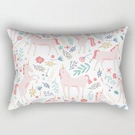 Unicorn Fields Rectangular Pillow