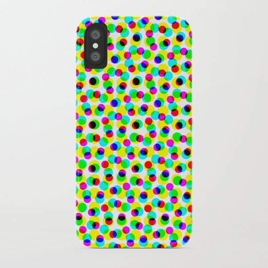 COLORFUL DOT iPhone Case