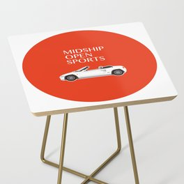Midship Open Sports Side Table