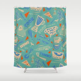 Homemade mood Shower Curtain