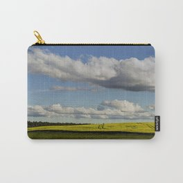 Spring Landscape with wonderful clouds Carry-All Pouch