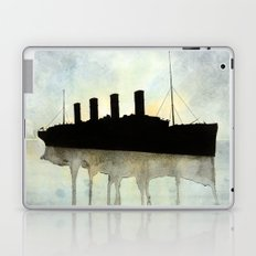 Titanic watercolour Laptop & iPad Skin