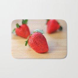 Fresh Strawberries 2018 Bath Mat