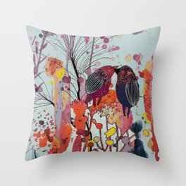 love-moi Throw Pillow