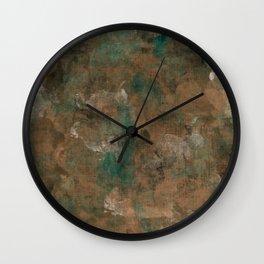 Patina Copper Wall Clock