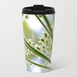 Delicate cow parsley Travel Mug