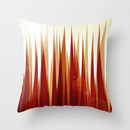 Under the Bushes Throw Pillow