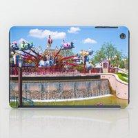 dumbo iPad Cases featuring Dumbo Ride by ThatDisneyLover
