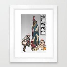 Final Fantasy - Lightning, Fang and Vanille Framed Art Print