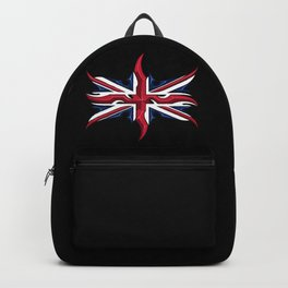 Union Jack British Flag Resistance Style Backpack