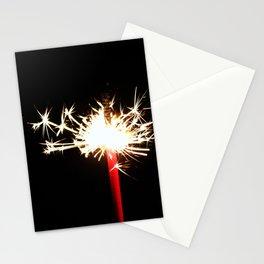 Single Sparkler Stationery Cards