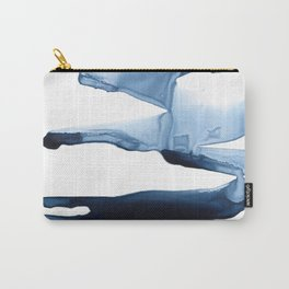 Abstract Indigo no. 2 Carry-All Pouch