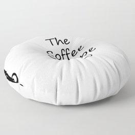 The Coffee Shoppe Floor Pillow