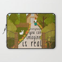 Everything you can imagine is real 1 Laptop Sleeve