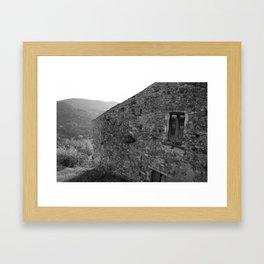 Campania farmhouse Framed Art Print