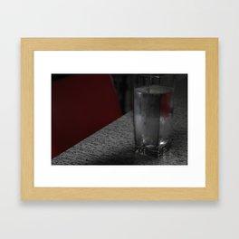 Heat Framed Art Print