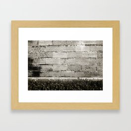 Brick Framed Art Print