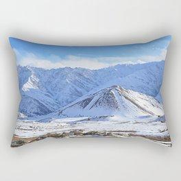 Beautiful Winter Season Landscape Rectangular Pillow