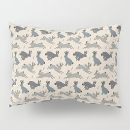 Jackalope Snow Parade Pillow Sham