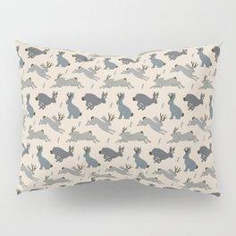 Jackalope Snow Parade Pillow Sham