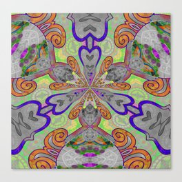 Magical Mystery Tapestry Print Canvas Print