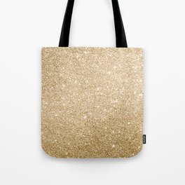 Modern abstract elegant chic gold glitter Tote Bag