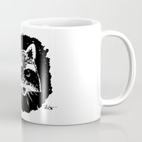 racoon Mugs featuring Racoon by leart
