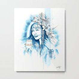 Miss Yakutsk Metal Print