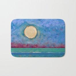 Abstract Landscape IV (Colorized) Bath Mat