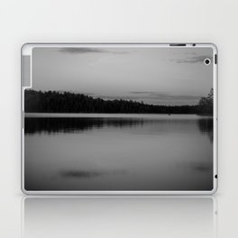 Black and White Sunset on Little Loon Laptop & iPad Skin