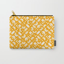 Control Your Game - White on Gold Carry-All Pouch