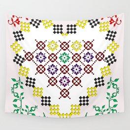 Romanian Heart Wall Tapestry