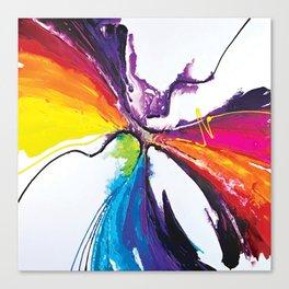 Abstract Art Britto - QB294 Canvas Print