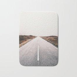 ROAD - HIGH WAY - LANDSCAPE - PHOTOGRAPHY - NATURE - ADVENTURE - SKY Bath Mat
