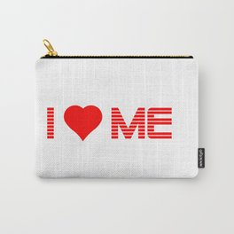 Valentine's - I Love Me (Heart) Carry-All Pouch