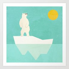 Solar Bear Art Print