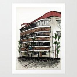 78 Yong Siak Road Art Print