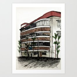 78 Yong Siak Road Art Print