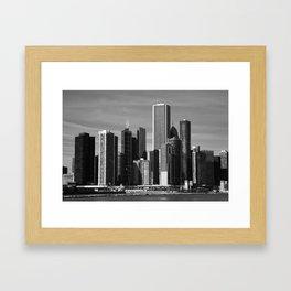 Chicago Skyline 2010 Framed Art Print