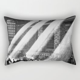 1935 Vintage New York City Grand Central Terminal Photographic Print Rectangular Pillow