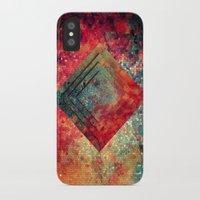 square iPhone & iPod Cases featuring Random Square by Esco
