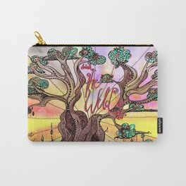 Drink the Wild Air by Rosemary Knowles, aka MaxillaMellifer Carry-All Pouch