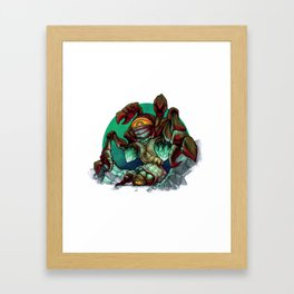The Queen Framed Art Print