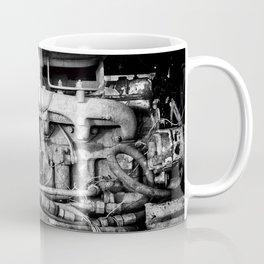 Vintage Engine Machine Block Grunge Grime Coffee Mug
