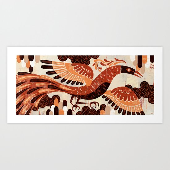 The Pheonix Art Print