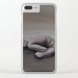 """Return to Clay"" Clear iPhone Case"