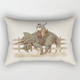 Dino Rodeo  Rectangular Pillow