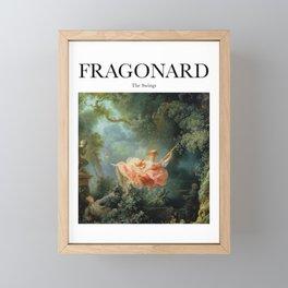 Fragonard - The Swing Framed Mini Art Print